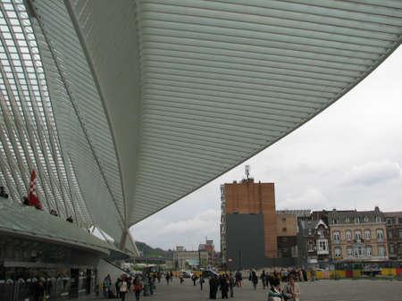 liege: Railway station of Liege
