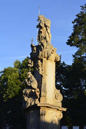columb: Columb near Lesnica castle in Wroclaw