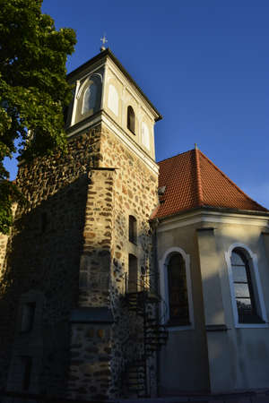 wroclaw: St.Jadwiga church in Wroclaw Stock Photo