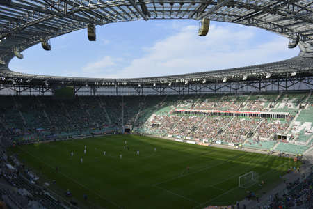 wroclaw: Wroclaw city arena Editorial