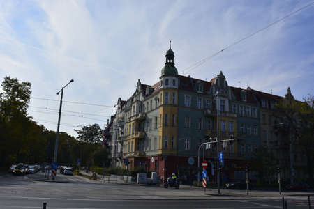nineteenth: Nineteenth century district in Wroclaw