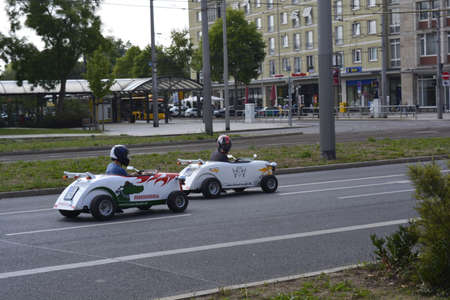 carting: The carting race in Dresden