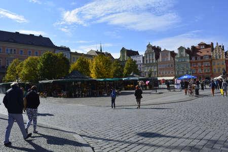 wroclaw: wroclaw market Editorial