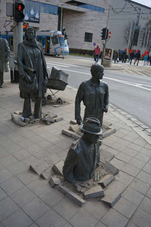 transition: Transition monument in Wroclaw