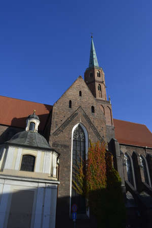 wroclaw: Dominican church in Wroclaw Stock Photo