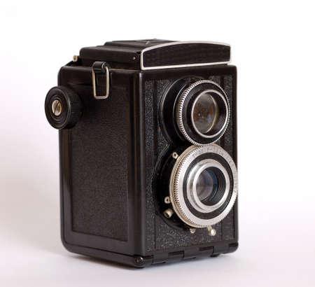 Old film camera Stock Photo - 4776289