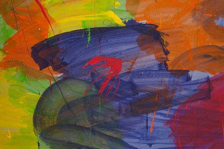 paints: colored wall paints abstract
