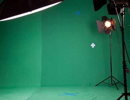 stripbox: Photo Studio for the filming of chroma key