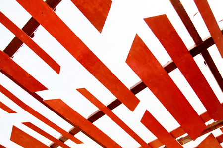 ceiling texture: Red texture ceiling background design architecture house