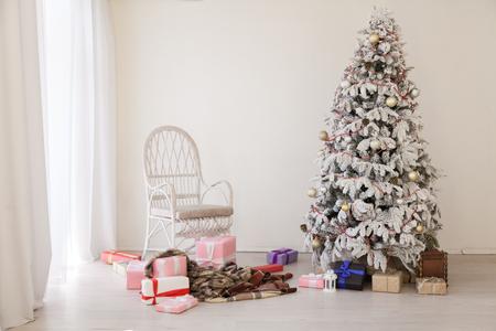 new year Christmas Interior holidays gifts winter Standard-Bild