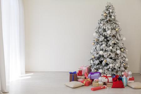 tree Christmas tree new year gifts holiday card interiors