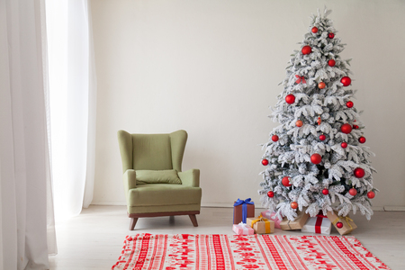 Christmas Interior new year Merry Christmas holiday gifts