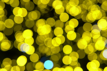 Christmas lights Bokeh Garland new year holidays different colors