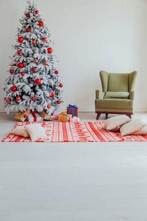 Christmas holidays. New Year Family holidays Stock Photo
