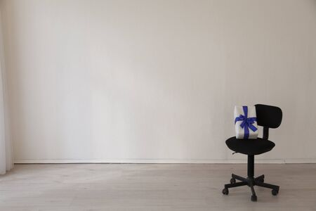 office chair in the interior of the office without people 版權商用圖片