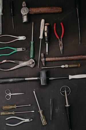 tools for repair and construction work