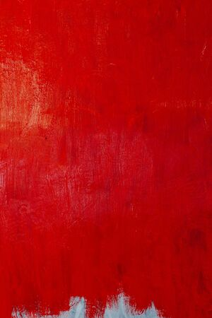 white gray background smears red paint wall
