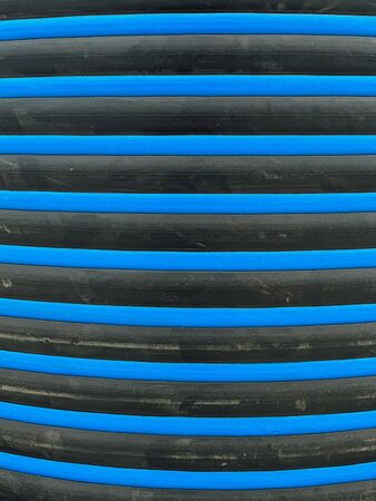 black blue striped wall as background textura