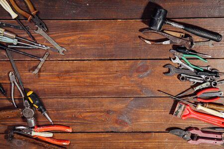 construction hammers screwdriver repair tool pliers knives 版權商用圖片