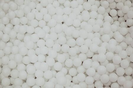 many white round balls texture background nice