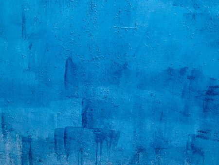blue vintage loft wall structure metal texture background