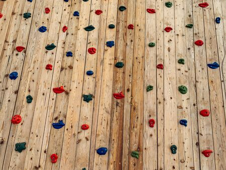 coaching wall for climbing lessons