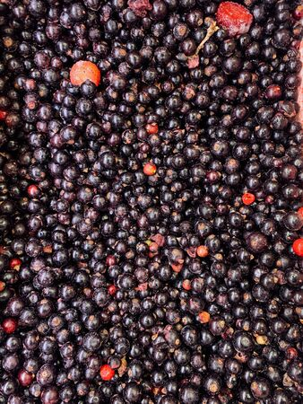lots of ripe delicious currant berries to eat like a background