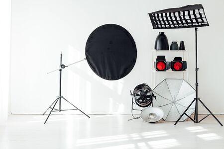 Fotostudio Ausrüstung Zubehör Fotograf Blitze
