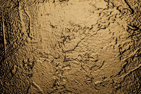 Old bronze paint light vintage wall structure texture of stone as background