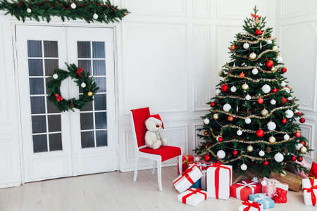 New Years Eve Christmas Interior Home Christmas Tree Gifts