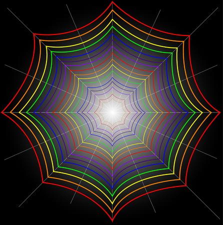 Spider Web Ilustracja