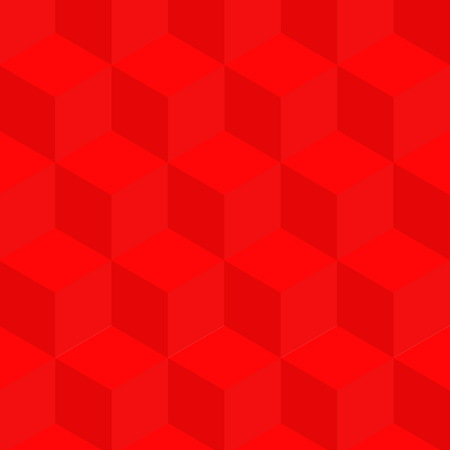 Background from multi-colored cubes. Optical illusion from cubes