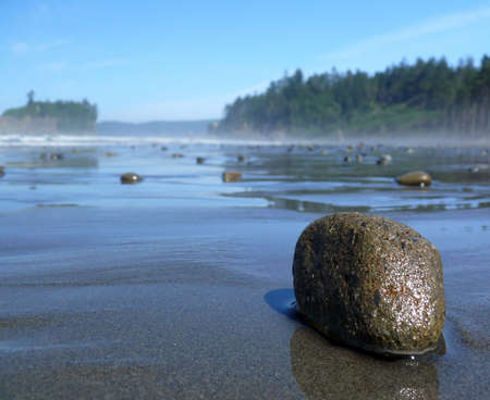 A pebble on the Ruby beach photo