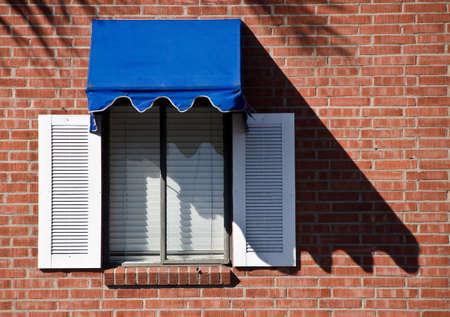 Colorful window in a building in La Jolla village Stock Photo - 16988402