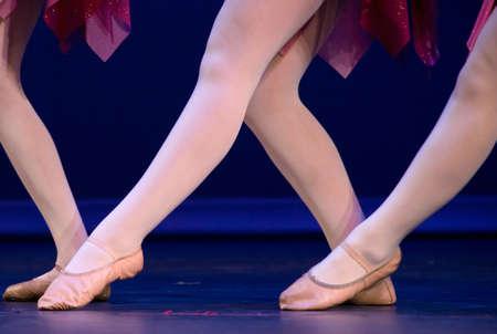 lyrical: Big W made of feet of lyrical dancers