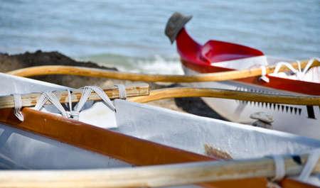 outrigger: Outrigger at Kaunaoa beach Big Island Hawaii