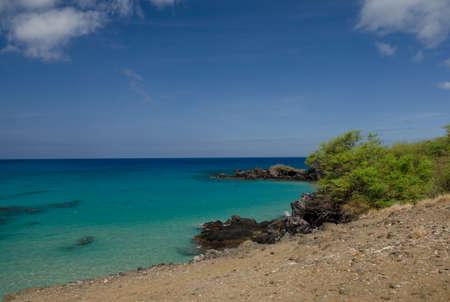 breakaway: Rocks between Wailalea Bay and Hapuna, Big Island, Hawaii