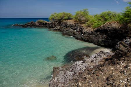 breakaway: Little bay to the south of Hapuna beach, Big Island, Hawaii
