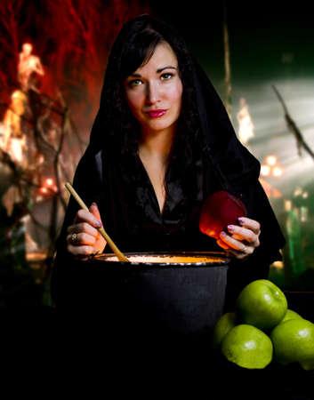 heks: Heks uit een sprookje van Sneeuwwitje