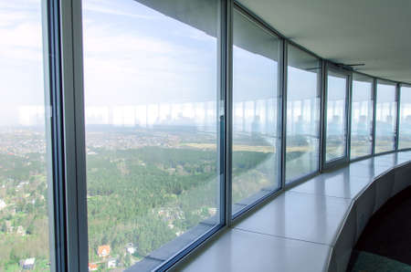 Panoramic view from the TV-tower photo