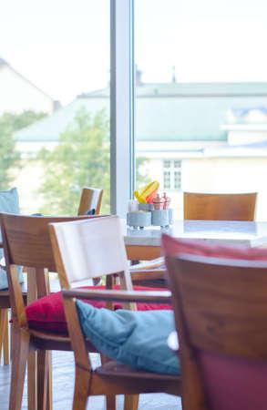 homelike: Homelike empty cafe interior