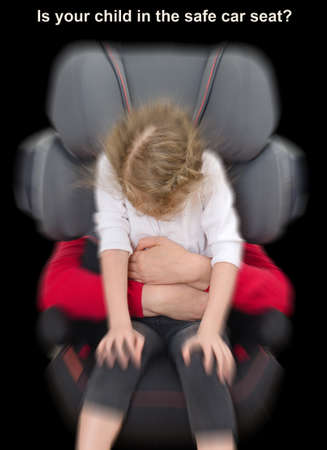 Is your child in the safe car seat  photo
