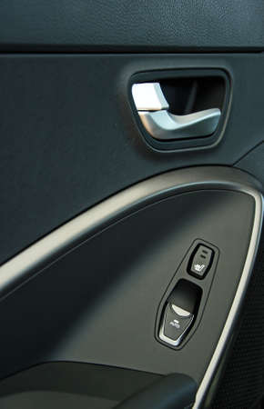 Door handle inside the car  photo
