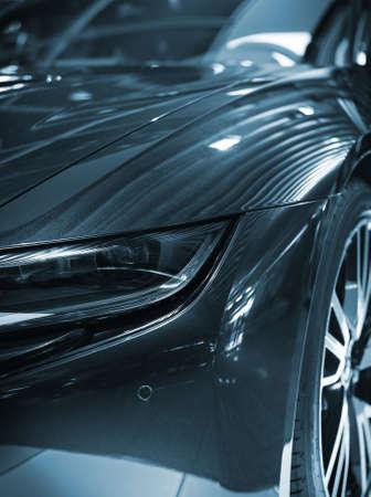 Part of sports car model.