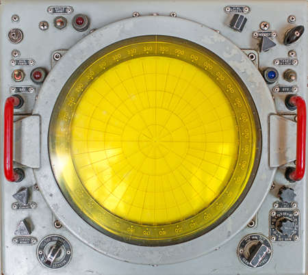 yellow: Part of old round radar station.