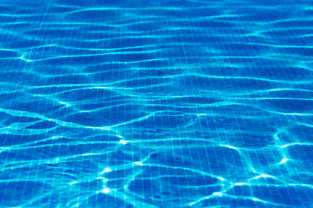 적합: Swimming pool underwater. Suitable for background. 스톡 콘텐츠