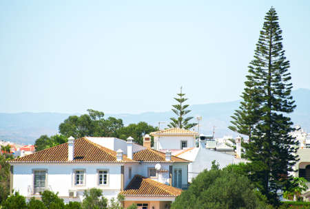 Center of the city of Portimao in Portugal.