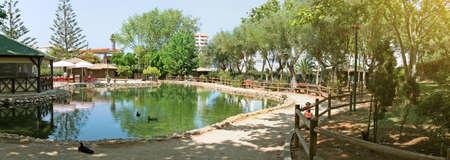 Youth Park panorama. Parque da Juventude in Portimao, Portugal.