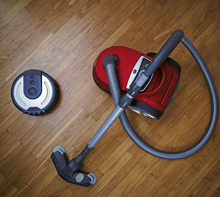 Robotic vacuum cleaner vs Vacuum cleaner.
