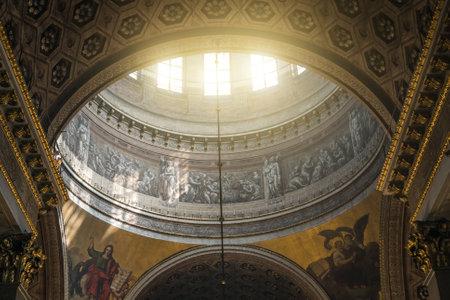 Dome inside of Kazanskiy Kafedralniy Sobor in Saint Petersburg.